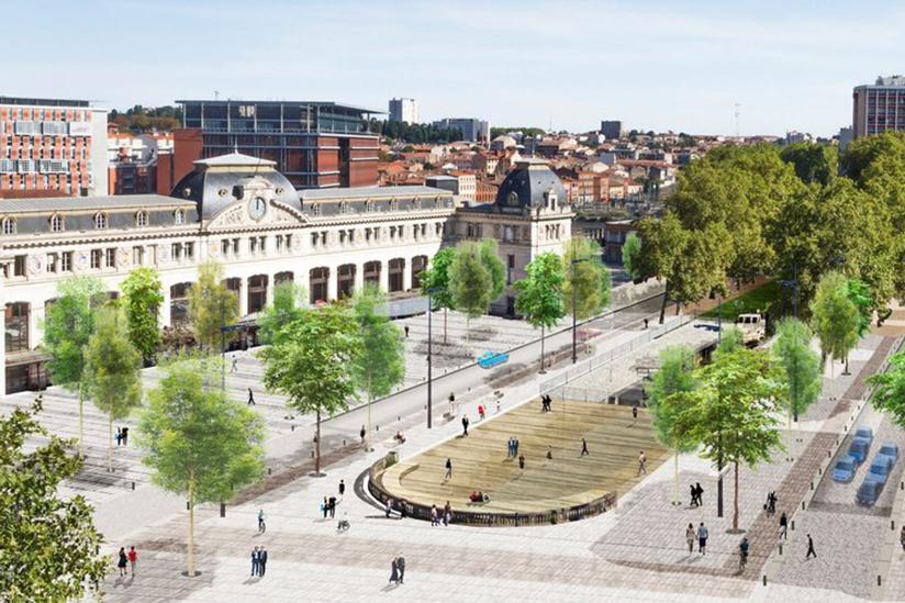 Projet gare Matabiau Toulouse