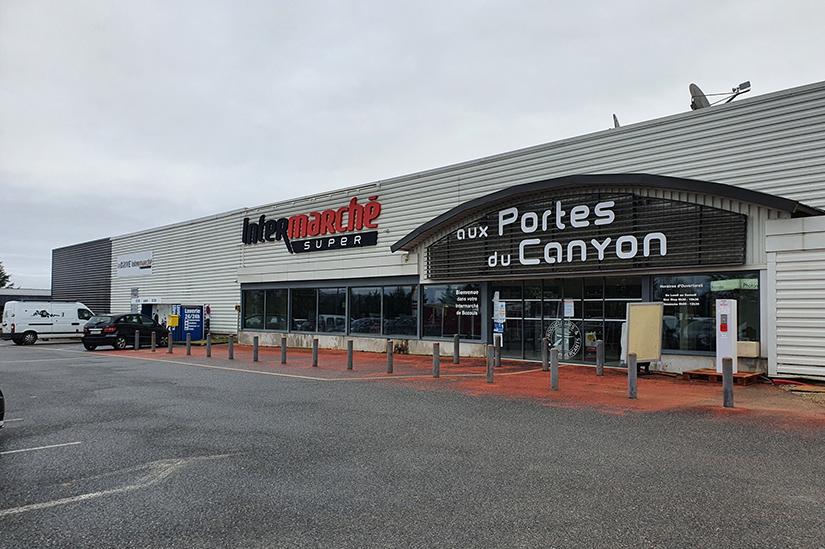 Extension Intermarché Bozouls